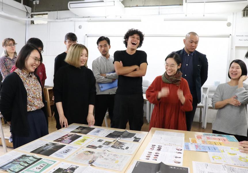 アーツカウンシル東京が主催する「事務局による事務局のためのジムのような勉強会(愛称「ジムジム会」)」